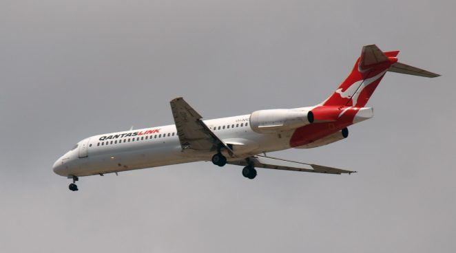 QantasLink Boeing 717 (Public Domain)