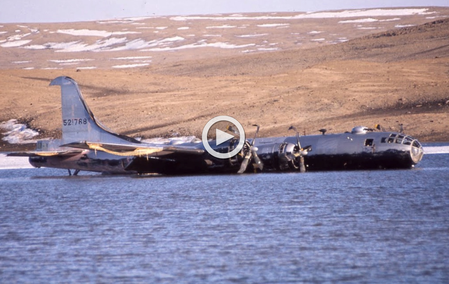 They Rebuilt a B-29 Outdoors in Greenland   Then Something