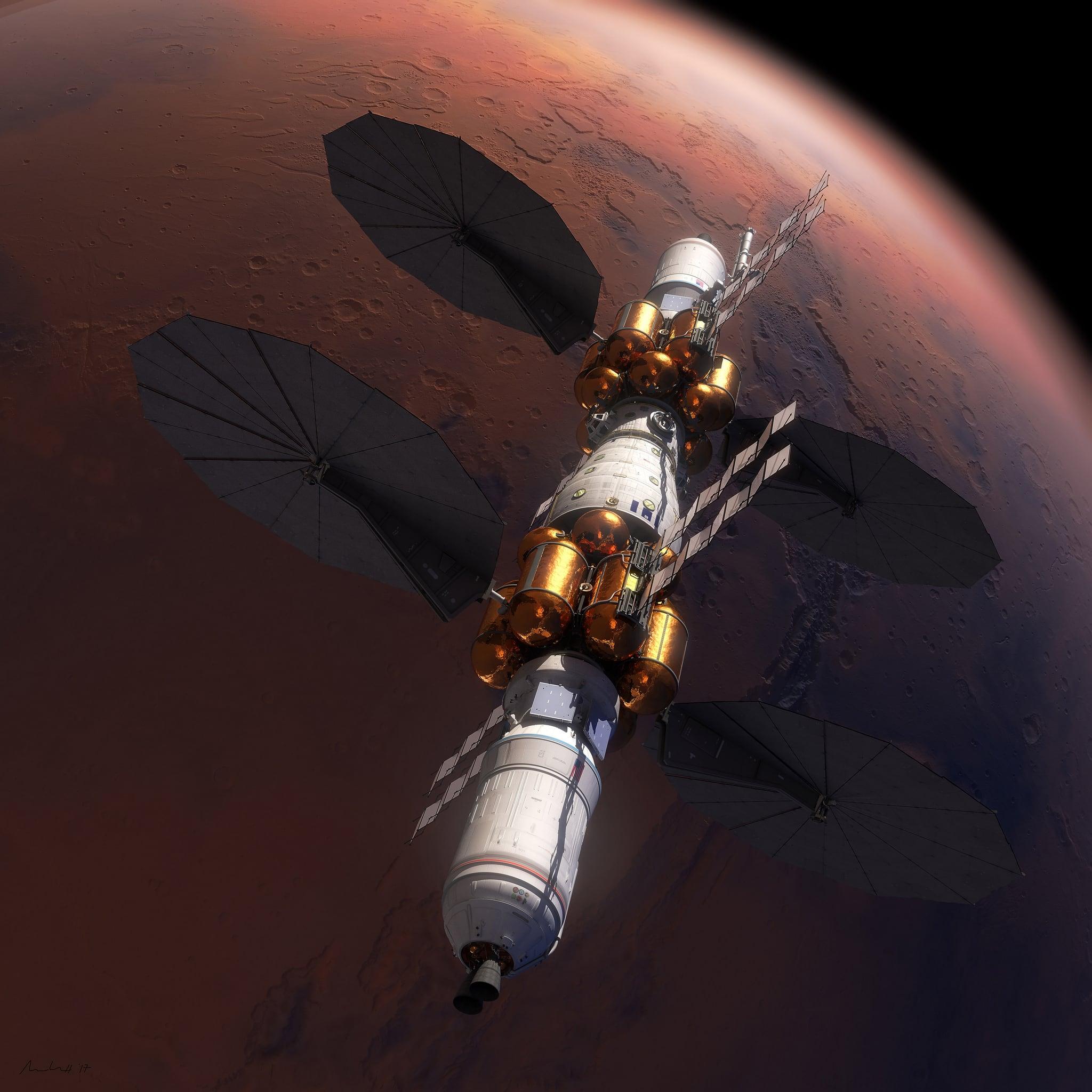 Lockheed Martin reveals Mars landing plans