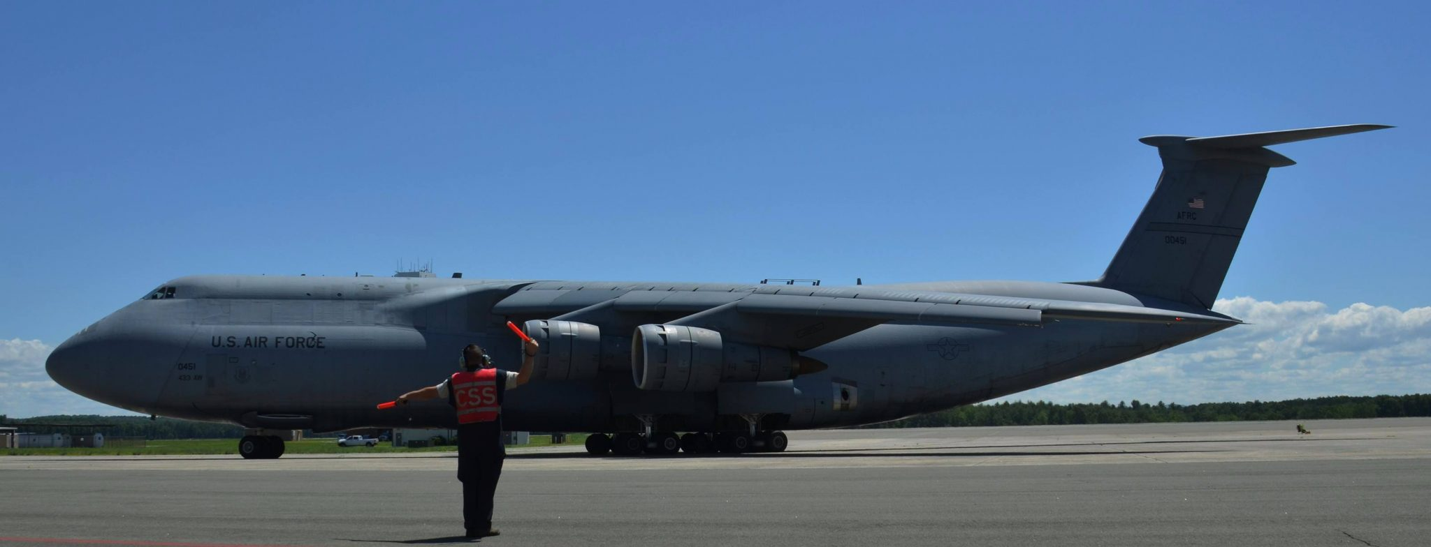 The Final C-5A Galaxy Flew To The Boneyard Today