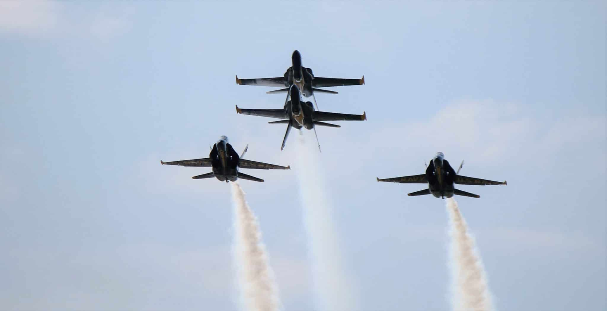 Famed Navy Blue Angels To Fly At Dayton Air Show Next Year