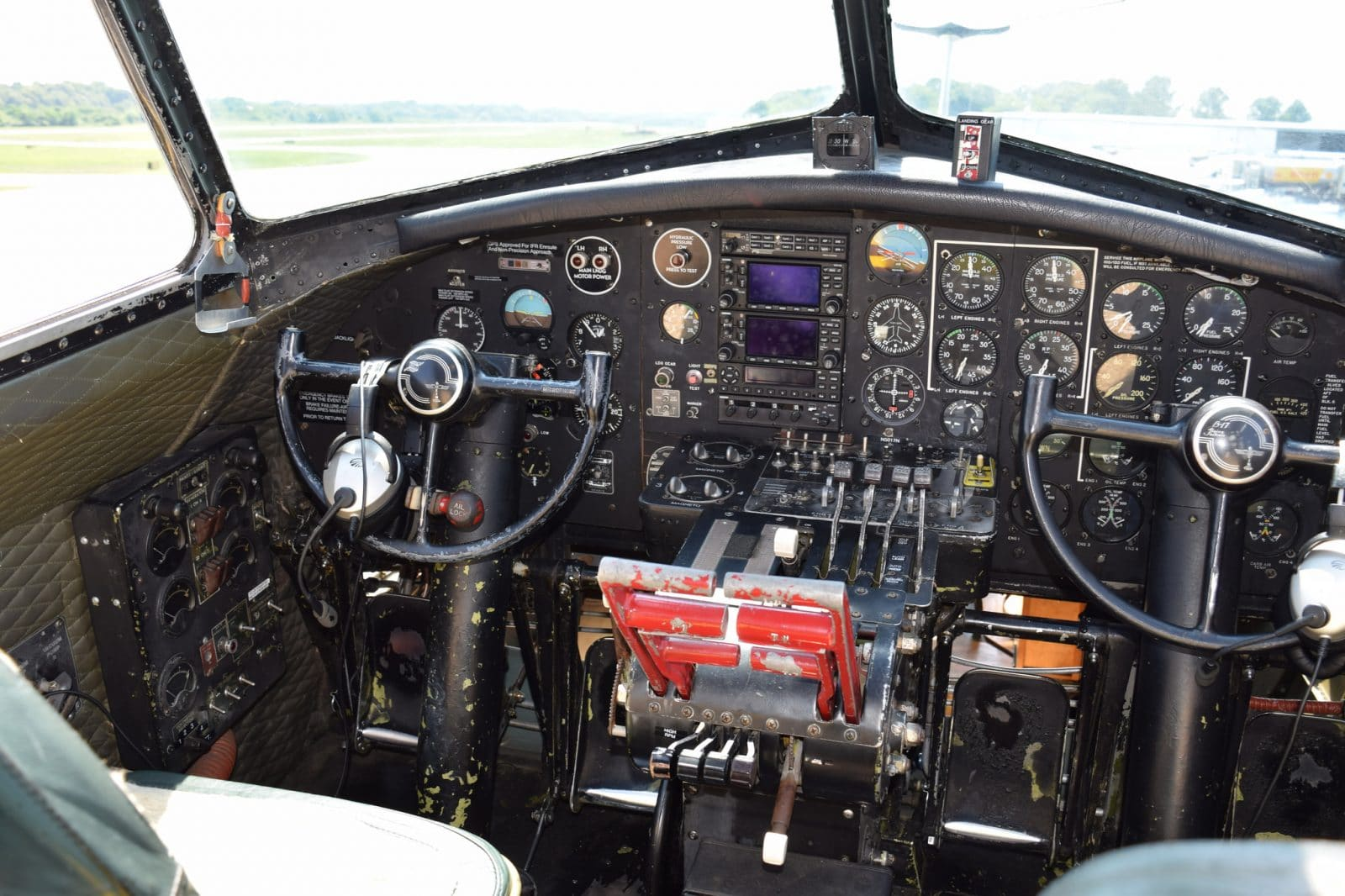 Historic B-17 Flying Fortress 'Aluminum Overcast' touring