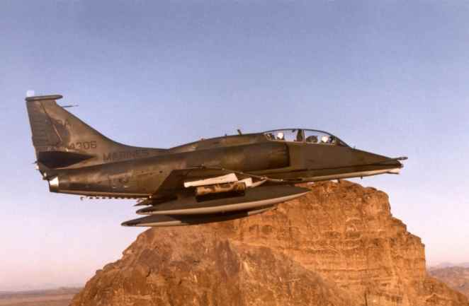 Douglas A-4 Skyhawk: That Little Attack Jet That Could   and Did