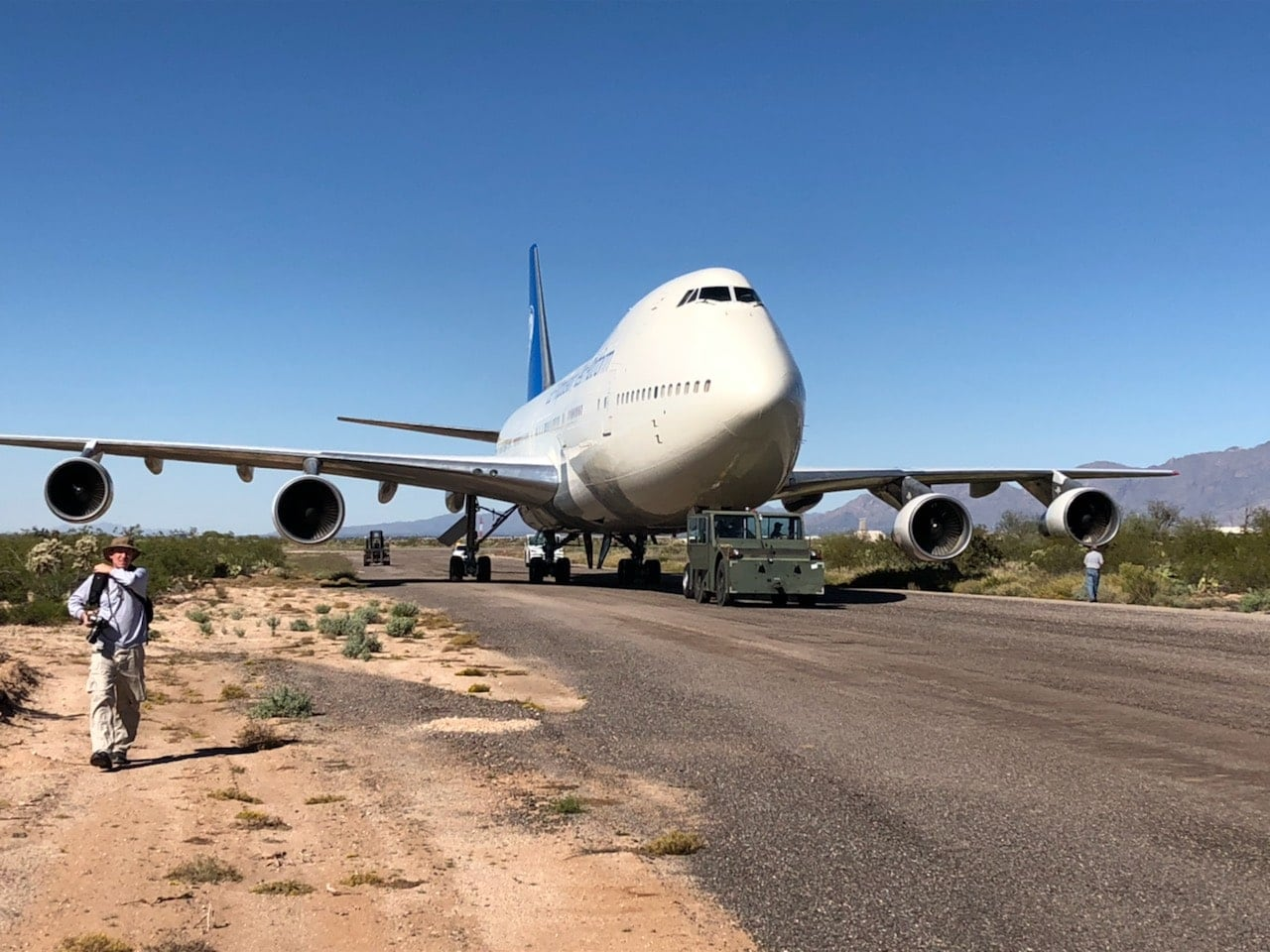 GE's Original 'Classic' 747 Testbed Takes One Last Flight To