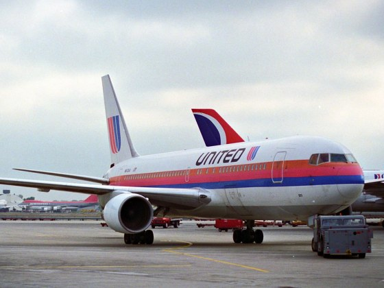 Boeing 767 United 1980s