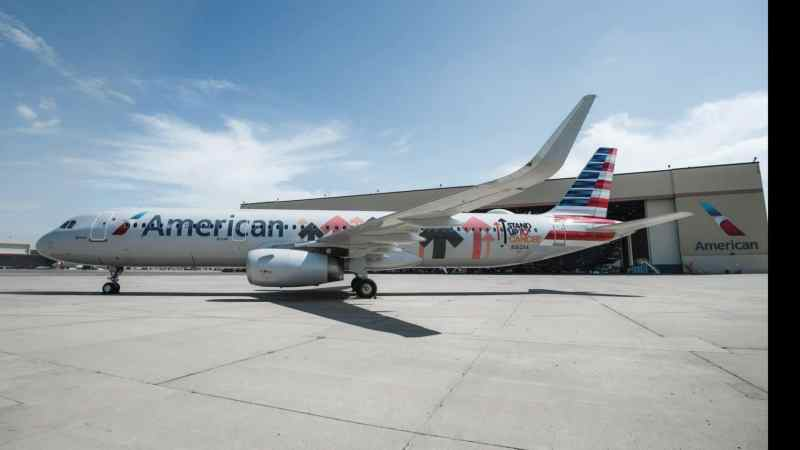 American Airlines Unveils Stand Up To Cancer Aircraft