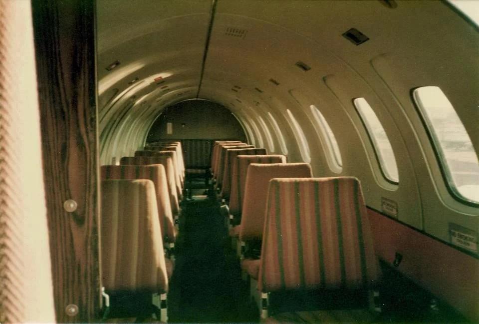 Avgeek - Air Midwest Cabin