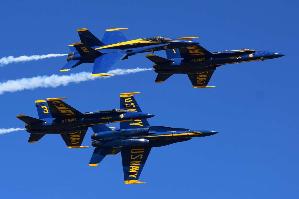 Blue Angels will Retain 2020 Pilots for 2021 Super Hornet ...