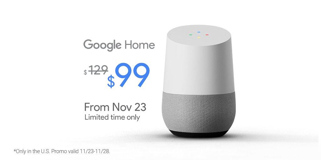 Google Home on Sale