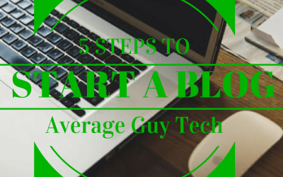5 Quick Steps to Set Up Your Blog