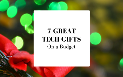 7 Great Tech Gifts on a Budget