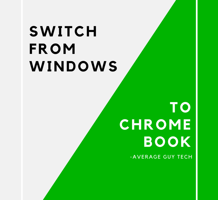 How to Switch from Windows to Chromebook