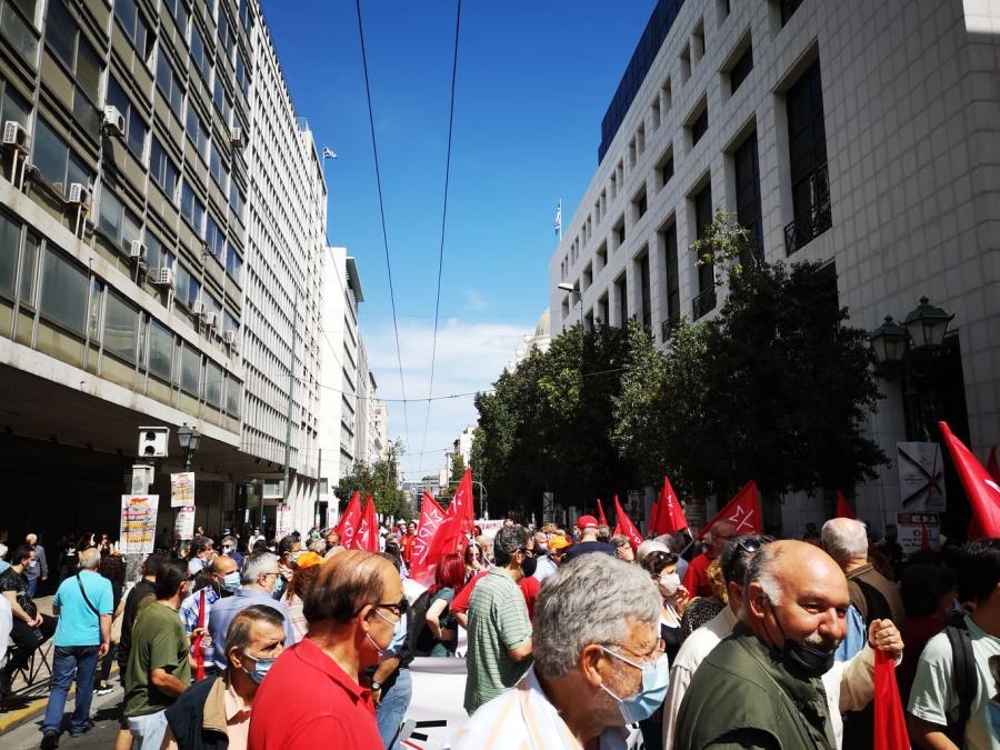 , 24ωρη απεργία 6 Μάη / Μεγάλη η συγκέντρωση στην Αθήνα (φωτογραφίες-video), INDEPENDENTNEWS
