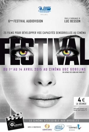 affiche du 6ème festival de l'Audiovision