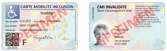 La Carte Mobilit Inclusion Remplaante Des Cartes De