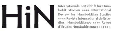 HiN - Internationale Zeitschrift für Humboldt Studien <br /> ISSN: 1617-5239