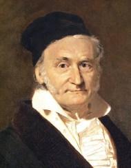 C. F. Gauß (Quelle: Uni Hamburg)