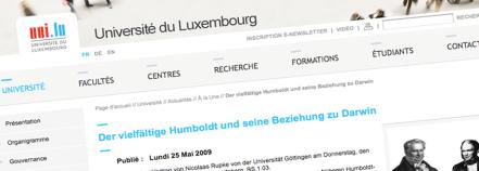 Université de Luxembourg (Quelle: http://wwwfr.uni.lu/universite)