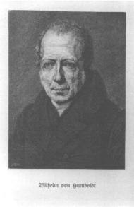 Wilhelm von Humboldt (Quelle: BBAW)