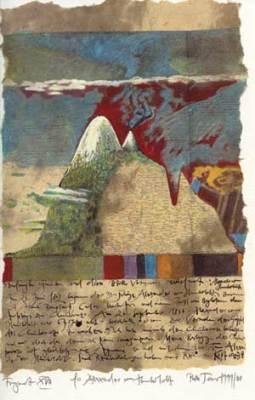 """Bild aus dem Zyklus """"Die Besteigung des Chimborazo"""" von Ruth Tesmar (Quelle: Humboldt. Die Universitätszeitung)"""
