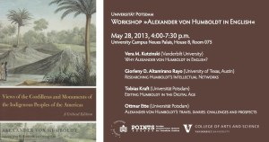 """05/28/2013, Workshop: """"Alexander von Humboldt in English"""", Potsdam"""