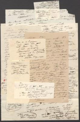 """Alexander von Humboldt: Vorlesungsmanuskript der 59. Stunde (Zyklus an der Berliner Universität) zum Thema """"Menschenracen"""" (SBB-PK, Nachl. Alexander von Humboldt, Gr. K. 13, Nr. 15, Bl. 33a)"""