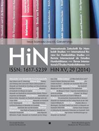 HiN XV, 29 (2014)