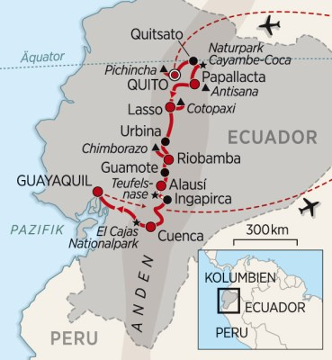 Mit Peter Korneffel nach Ecuador auf Humboldts Spuren