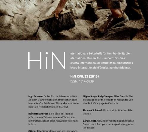 HiN XVII, Nr. 32 (2016)