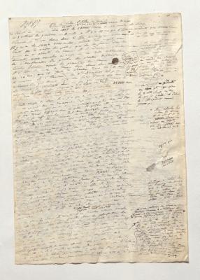 Isle de Cube. Antilles en général. Biblioteka Jagiellońska, Krakau, Nachl. Alexander von Humboldt (Königliche Bibliothek) , Nachlass Alexander von Humboldt Bd. 3/1 Bl. 127–149, hier Bl. 128r (Public Domain)