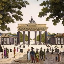 """Das Brandenburger Tor vom Pariser Platz aus gesehen"""" © bpk / Jörg P. Anders"""