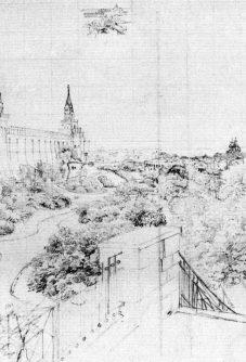 Eduard Gärtner: Fernblick Moskau. Märkisches Museum/Stiftung Stadtmuseum Berlin