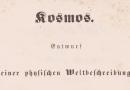 """Deutschlandfunk-""""Kalenderblatt"""": Vor 175 Jahren erschien der erste Band des """"Kosmos"""""""