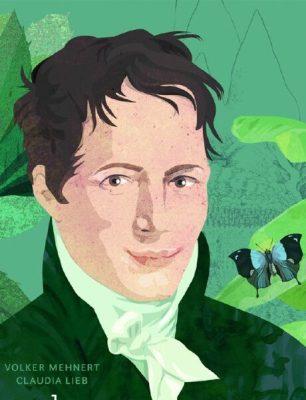 Alexander von Humboldt. Illustration von Claudia Lieb