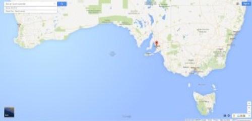 Sur de Australia, destacando Adelaide