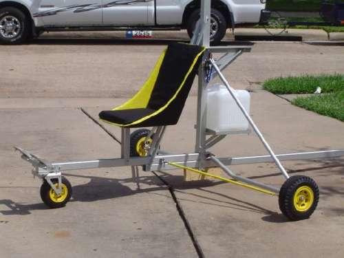 Autogiro Starbee, muestra lo básico que es su estructura.