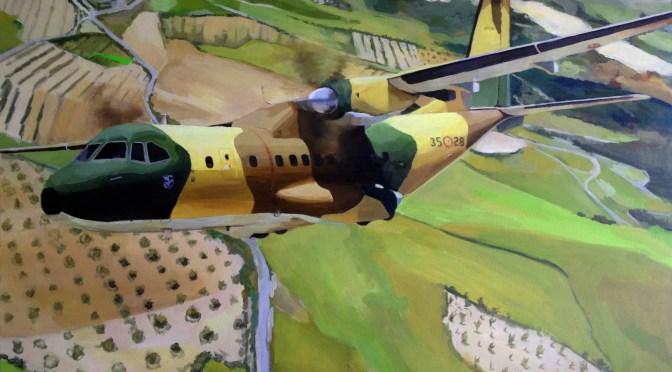El cuadro de tu avión. Retratos realistas.