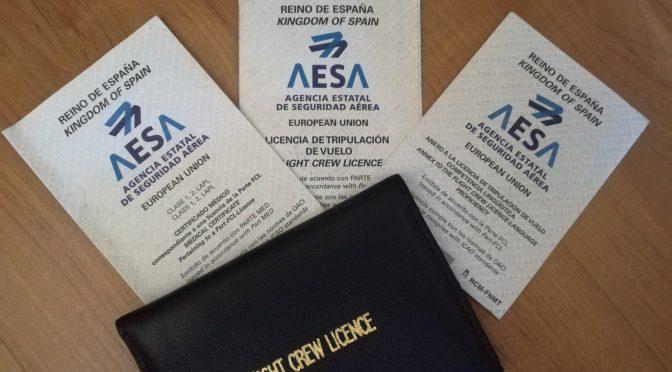AESA incorporarà a las licencias la competencia lingüística.