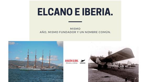 Elcano e Iberia.