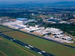Planta de Embraer en Sao Jose dos Campos