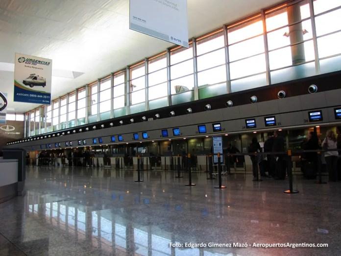 Aeropuerto de Córdoba - Check in