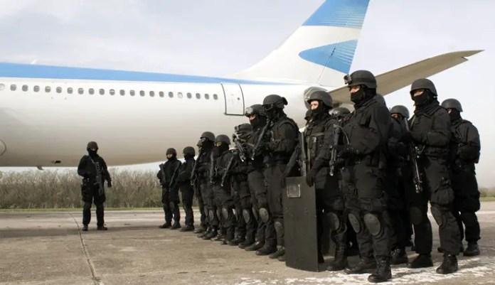 Foto: Policía de Seguridad Aeroportuaria