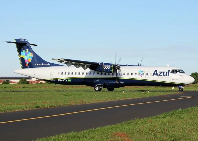 Azul ATR 72-600 Renato Spilimbergo Carvalho