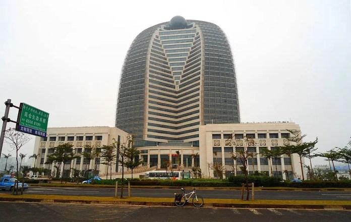 Sede central del HNA Group en Haikou, Hainan.