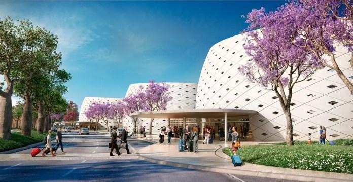 Tucumán - aeropuerto - Nueva terminal fachada - Cesar Pelli