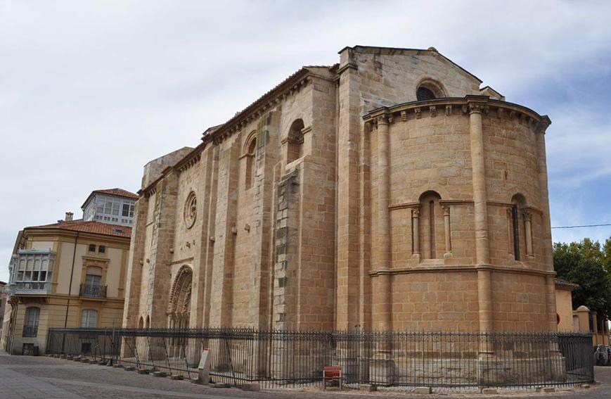 Iglesia de Santa María Magdalena en Zamora