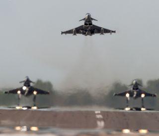 eurofighter decolare