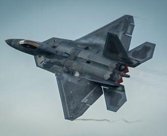 F-22 Raptors deploy to Estonia