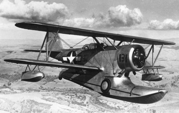 Der Zweite Weltkrieg Ver Tema Grumman J2F Duck