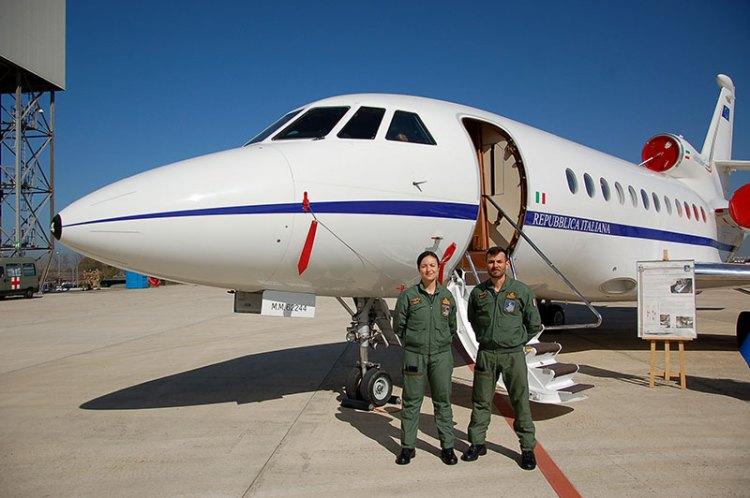 falcon 900 trasporti sanitari aeronautica militare